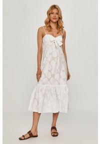 Beatrice B - Sukienka. Kolor: biały. Długość rękawa: na ramiączkach