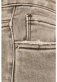 Szare jeansy ANSWEAR w kolorowe wzory