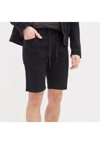 House - Jeansowe szorty - Czarny. Kolor: czarny. Materiał: jeans