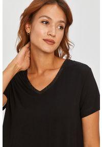 Czarna bluzka Answear Lab na co dzień, wakacyjna