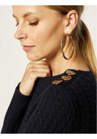 Niebieski sweter klasyczny Marella