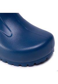 Niebieskie kalosze Birkenstock klasyczne, z cholewką