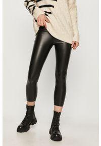 Czarne legginsy Answear Lab wakacyjne