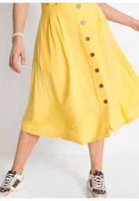 Żółta spódnica bonprix