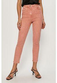 Proste jeansy Jacqueline de Yong gładkie