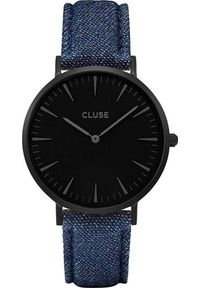 Niebieski zegarek Cluse
