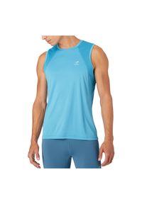 Koszulka męska do biegania Energetics Ikaros III 411738. Materiał: materiał, poliester. Długość rękawa: bez rękawów