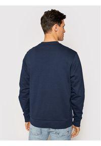 Calvin Klein Bluza Logo Sweatshirt K10K104059 Granatowy Regular Fit. Kolor: niebieski