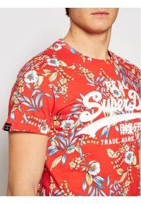 Superdry T-Shirt Vl Aop M1010999A Czerwony Regular Fit. Kolor: czerwony #3