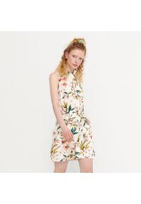 House - Wiskozowa sukienka bez rękawów - Wielobarwny. Materiał: wiskoza. Długość rękawa: bez rękawów
