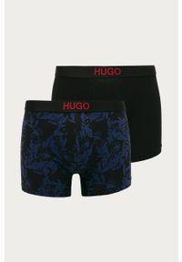 Niebieskie majtki Hugo z nadrukiem