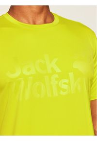 Zielona koszulka sportowa Jack Wolfskin