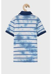 Niebieski t-shirt polo GAP casualowy, polo, na co dzień