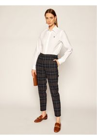 Polo Ralph Lauren Koszula Lsl 211806180 Biały Classic Fit. Typ kołnierza: polo. Kolor: biały