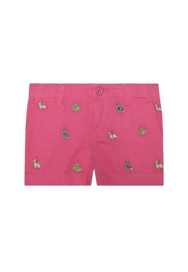 Różowe spodnie Polo Ralph Lauren
