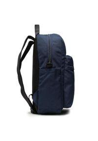 Guess - Plecak GUESS - Elvis HMELVI P1105 BLU. Kolor: niebieski. Materiał: materiał