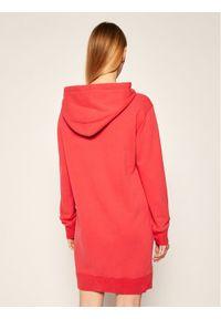 Czerwona sukienka Polo Ralph Lauren polo