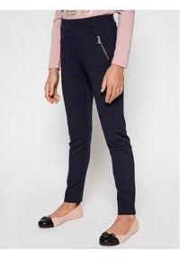 Mayoral Spodnie materiałowe 7534 Granatowy Slim Fit. Kolor: niebieski. Materiał: materiał