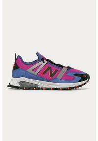Wielokolorowe sneakersy New Balance z cholewką, z okrągłym noskiem