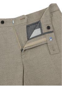 Vistula Spodnie materiałowe Move Wash LT1005 Beżowy Slim Fit. Kolor: beżowy. Materiał: materiał
