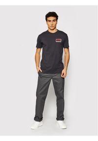 Deus Ex Machina T-Shirt Brain Freeze DMS2011002B Szary Regular Fit. Kolor: szary