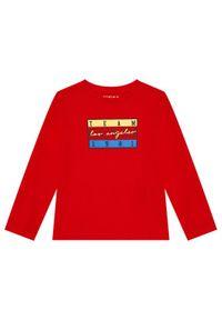 Guess Bluzka N1YI00 K8HM0 Czerwony Regular Fit. Kolor: czerwony