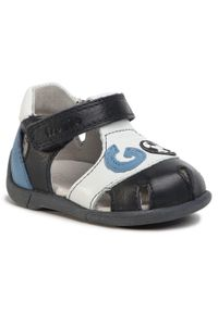 Niebieskie sandały Froddo na lato, klasyczne, z aplikacjami