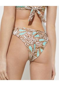 DEL MAAR - Dół od bikini Khia Thaya. Kolor: biały. Materiał: materiał
