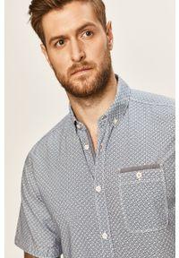 Niebieska koszula Tom Tailor Denim na co dzień, casualowa