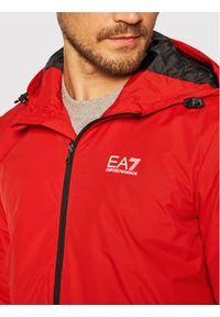 Czerwona kurtka przejściowa EA7 Emporio Armani