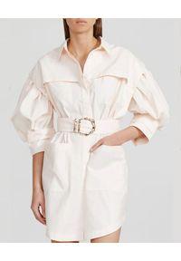 ACLER - Koszulowa sukienka Kindsway. Kolor: różowy, wielokolorowy, fioletowy. Materiał: bawełna. Typ sukienki: koszulowe. Długość: mini