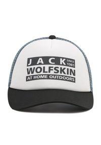 Biała czapka z daszkiem Jack Wolfskin