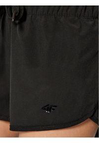 4f - 4F Szorty sportowe H4L21-SKDT003 Czarny Regular Fit. Kolor: czarny