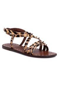 Brązowe sandały Eva Minge