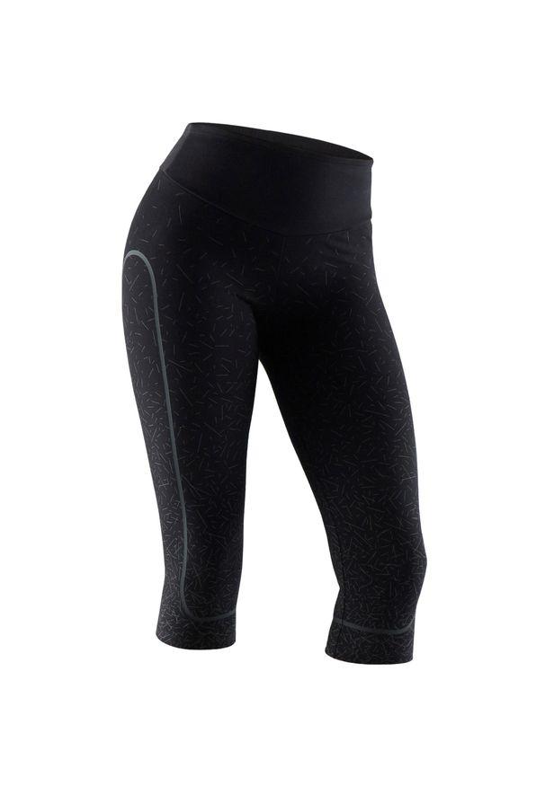NYAMBA - Rybaczki fitness. Kolor: szary. Materiał: poliester, elastan, bawełna, materiał. Sport: fitness