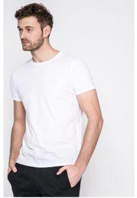 Czarny t-shirt Wrangler casualowy, na co dzień
