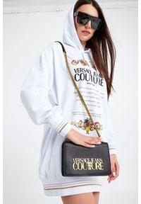 Versace Jeans Couture - TOREBKA VERSACE JEANS COUTURE. Wzór: haft, aplikacja. Dodatki: z haftem. Materiał: zdobione, z tłoczeniem #2