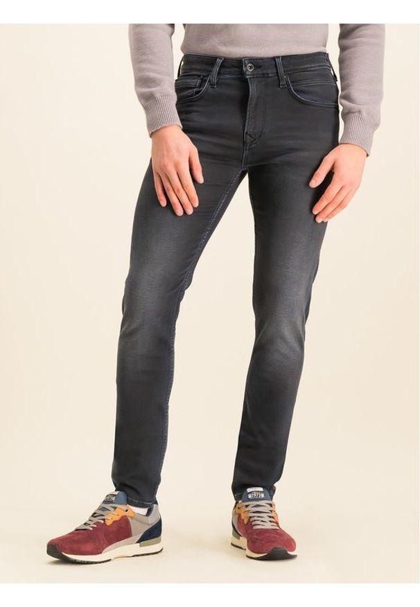 Pepe Jeans Jeansy Skinny Fit Nickel Infused PM205148 Granatowy Skinny Fit. Kolor: niebieski