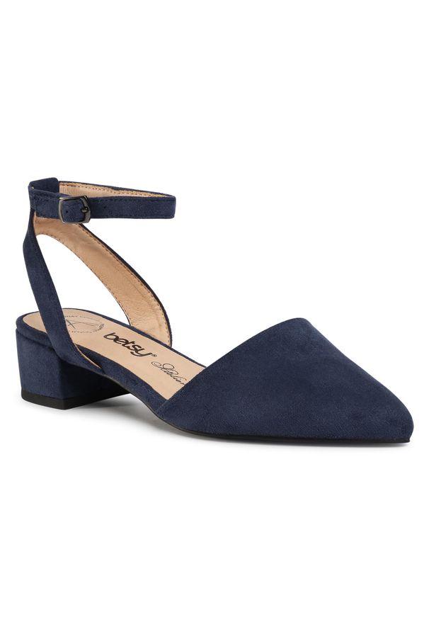 Niebieskie sandały Betsy casualowe, na co dzień