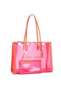 Różowa torebka klasyczna Kate Spade klasyczna