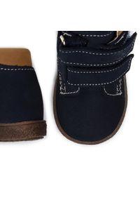 RenBut - Trzewiki RENBUT - 13-1447 Granat. Kolor: niebieski. Materiał: skóra, nubuk. Szerokość cholewki: normalna. Sezon: zima, jesień #5