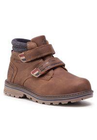 Brązowe buty zimowe Xti