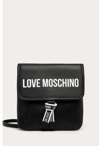 Czarna nerka Love Moschino z nadrukiem