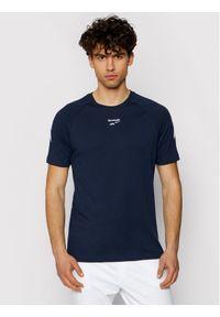 Niebieski t-shirt Reebok Classic