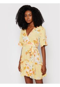 Billabong Sukienka letnia One and Only W3DR39 BIP1 Żółty Flared Fit. Kolor: żółty. Sezon: lato