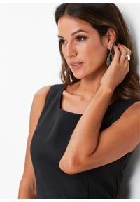 Sukienka ołówkowa bonprix czarny. Kolor: czarny. Typ sukienki: ołówkowe. Długość: midi