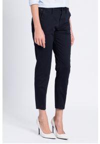 Niebieskie spodnie materiałowe G-Star RAW gładkie