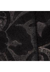 Czarne botki L37 na średnim obcasie, z cholewką, na obcasie