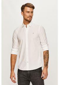 Biała koszula Calvin Klein z długim rękawem, casualowa, na co dzień