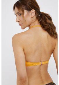 Lorin - Strój kąpielowy. Kolor: pomarańczowy. Materiał: dzianina